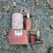 Western Cable Operated Hydraulic Snow Plow Pump For Truck