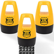 Id Police Protection Roller Stamp Helps Stop Id Theft - 3 Pack - Easy Mess-free