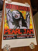 Soundgarden Pearl Jam - 1992 Pink Lady - 2nd Edition Poster By Frank Kozik