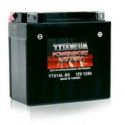 Tytaneum Factory Activated Maintenance Free Battery - Ytx16cl - Ktx16cl-bs-fa