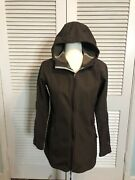 Nike Acg Womens Brown Fashionable Jacket Hooded Size Med