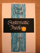 Paul Tillich Systematic Theology Volume 1 Christian Religion Book