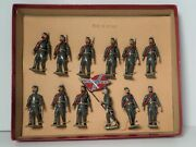 Cbg. Mignot Paris Lead Toy Soldiers Us Army Civil War Confederate - Boxed