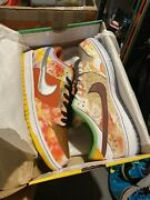 Nike Sb Dunk Low Pro Qs Street Hawker Cv1628-800 Size Us 13 In Hand New Ds