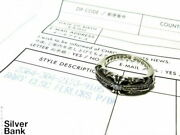 Chrome Hearts Baby Classic Floral Cross W/p.dia Sv925 Silver No.9 Ring Invoice