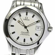 Omega Seamaster Chronometer Date 2501.21.00 Automatic Mens Secondhand