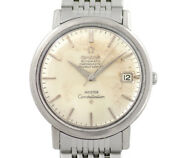 Omega Constellation Meister Name Double Date Silver Dial Ss Stainless