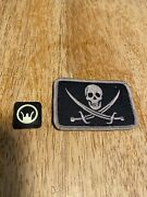 Tad Gear Calico Jack Jolly Roger Patch Ultra Rare Pdw Seal Triple Aught Design