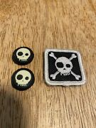 Tad Gear Triple Aught Design T Skull Patch And Pair Ranger Eyes Ultra Rare Pdw