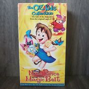 The Oz Kids Collection The Nome And The Magic Belt Vhs Factory Sealed