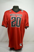 New Nc State Wolfpack Adidas Premier Strategy Football Jersey 20 Size Xl