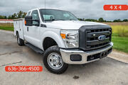 2016 Ford F250 Used 4wd Utility 6.2 V8 Auto Extended Cab Service Tool Work Truck