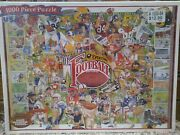 White Mountain Sports Everything Football 1000 Piece Jigsaw Puzzle Brand New