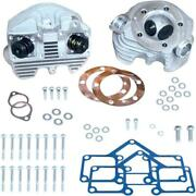 Sands Cycle Super Stock Cylinder Heads Rubber Band Intake-stock Bore-natural