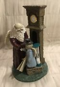 Belsnickle Father Time 1999 Annual Figurine 543616 By Enesco With Coa New