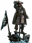 Hot Toys Captain Jack Sparrow Sixth Scale Figure Pirates Of The Caribbean Dead