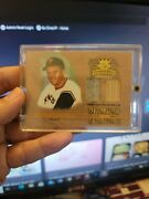 Roberto Clemente 2004 Diamond Cut Collection Bat And Jersey5 Of 21 Produced