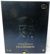 Hot Toys Pirates Of The Caribbean Jack Sparrow Dx06 1/6 Scale Figure Complete
