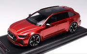 1/18 Motorhelix Audi Rs6 Avant 2021 In Red Limited To 99 Pieces