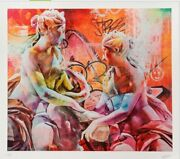 Pichiavo Andlsquobirth Of A New Myth Limited Edition Signed And Numbered Rare Print