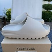 Adidas Yeezy Slide And039pureand039 Size 9 Style Gz5554