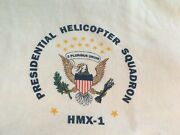 Vintage T-shirt Marine One Helicopter Presidential Squadron Anvil L