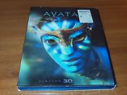 Avatar Blu-ray/3d/dvd 2-disc Set, 2012 With 3d Slipcover