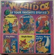 Wizard Of Oz, Aladdin, Simple Simon And More - Factory Sealed 1960s Children's Lp
