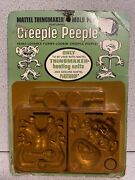 Creeple People 1968 Sealed Card Molds Creepy Crawlers Thingmaker 60andrsquos Monster
