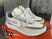 Size 10.5 - Nike Ldwaffle X Sacai Summit White 2019 Used In Good Condition