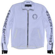 Chrome Hearts Track Jacket Mesh Truck White Secondhand