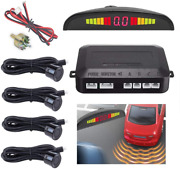 Auto Reverse Backup Radar System With 4 Parking Sensors Distance Detection...