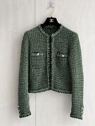 Authentic Green Cardigan Jacket Size 34 Great Condition