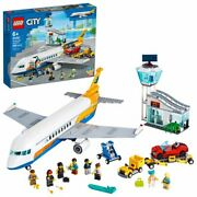 Lego City Passenger Airplane 60262 Building Toy For Kids Ages 6+ 669 Pieces