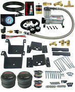 Air Tow Kit White In Cab Control Fits 4 Lifted 2011-17 Chevy 2500 3500 Truck