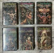 Clive Barker Books Of Blood Hc Hard Cover Collection Set Signed-very Rare