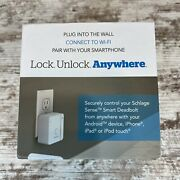 Schlage Br400 Sense Wi-fi Adapter 2.4ghz Wifi Only |