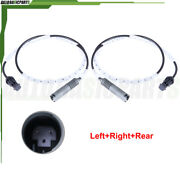 For 2007-2011 Bmw 328i Abs Wheel Speed Sensor Rear Left And Right Side 2 Pcs