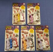 Creepy Crawlers Official New Plasti-goop Compound Toymax Lot Of 5 Packs 2001