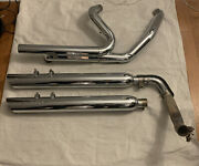 2011 Harley-davidson Streetglide Flhx Screaming Eagle Mufflers And Stockhead Pipes