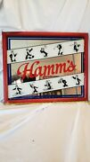 Hamms Beer Bear295101 Mirror Sports Sign. Made By Reflections. 22 X 18 Used