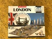 City Of London Jigsaw Puzzle History Over Time 4d Cityscape New Sealed 1230+ Pcs