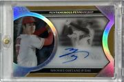 First No. Limited To 1/5 Sheets Shohei Otaniand039s Direct Writing Sign 2020 Topps