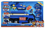 Spin Master Paw Patrol Chase Ultimate Police Cruiser 5 In 1 Vehicles New