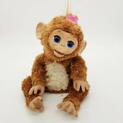 Hasbro Furreal Friends Cuddles 17 My Giggly Pet Monkey Tested Works Great Fur