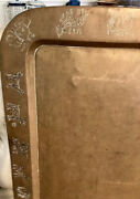 Brass Tray Hand-made From Pakistan