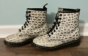 Rare Vintage Doc / Dr Martens Made In England Leather Crocodile Print - Unisex