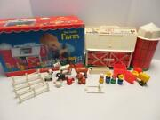 Fisher Price Little People Play Family Farm 1977 Barn 915 Complete A