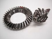 Nascar Ford 9 Xtrac 4.00 Light Weight Scalloped Ring And Pinion Gear Set Edm 52