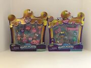Shopkins Happy Places Royal Trends Squirrel Palace And Charming Wedding Arch - New